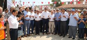 Gökçeören Mahallesine yapılacak 9 milyonluk yatırım törenle başladı