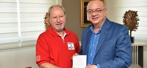 Kızılay'ın kurban bağışına bir destek de Başkan Ergün'den