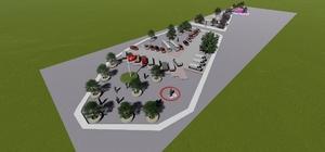 İnegöl'e modern meydan parkı