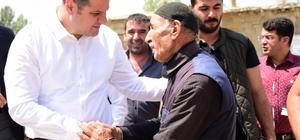 Başkan Vekili Öztürk'ten mahalle ziyareti