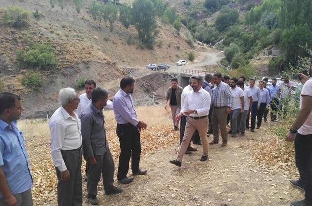 TBMM Başkan Vekili Aydın ve milletvekilleri köy halkıyla bir araya geldi