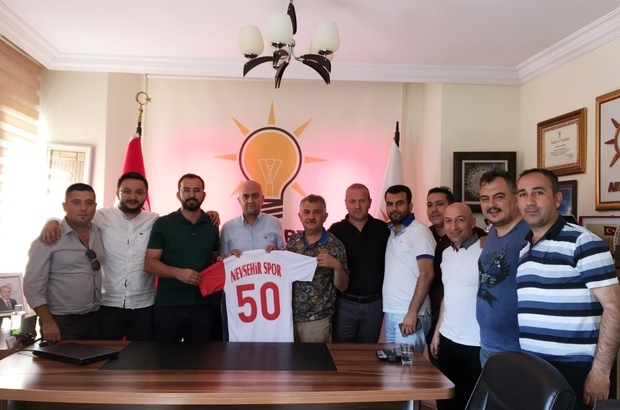 Nevşehirspor yöneticileri AK Parti'yi ziyaret etti