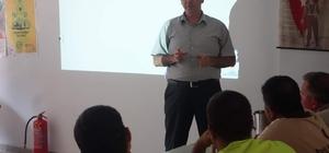 Afete Hazır İşyeri projesi kapsamında eğitim verildi