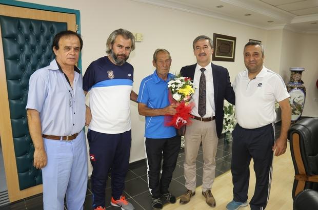 Turnuva komitesinden Başkan Şirin'e teşekkür