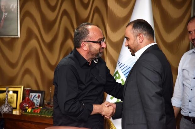 Başkan Üzülmez, BBP'Lİ heyeti ağırladı