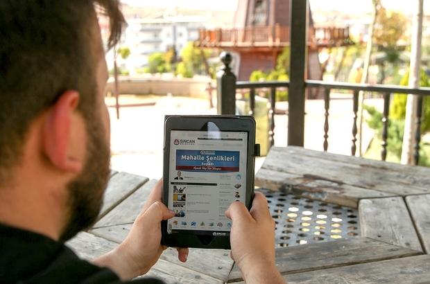 Sincan'da ücretsiz internet hizmeti