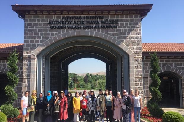 Pursaklarlı kadınlardan Altınköy gezisi
