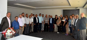 MHP'den Başkan Acar'a ziyaret