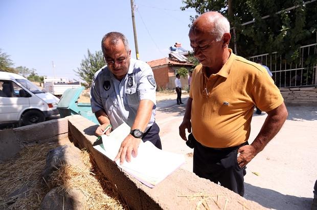 Merkezefendi Belediyesi Zabıta Müdürlüğünden Bayram öncesi kaçak kurban denetimi