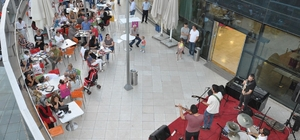 Tekirdağ'da teras konseri keyfi