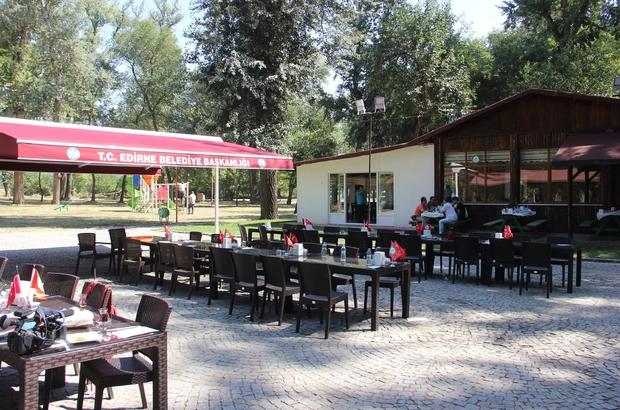 Edirne'nin akciğerleri yeniden hizmete açıldı