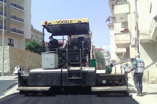 Akçakoca'da Sokak ve  caddeler yenileniyor