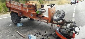 Şaphane'de çapa motoru devrildi: 3 yaralı