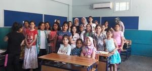 Miraç Camii Kur'an kursu öğrencileri belgelerini aldı