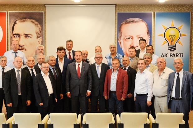 Karacan, Rumeli Türkleri ile görüştü
