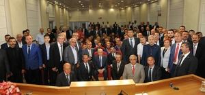 Kütahya MHP'den, Genel Başkan Devlet Bahçeli'ye ziyaret
