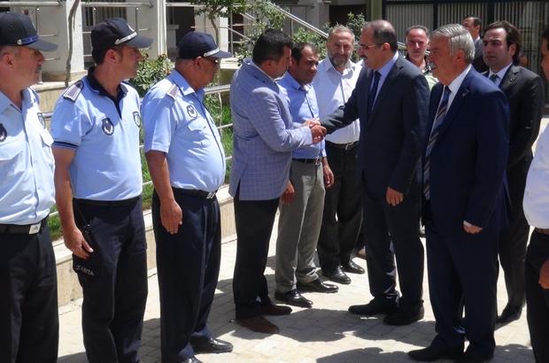 Vali Kaban Doğanşehir'de incelemelerde bulundu