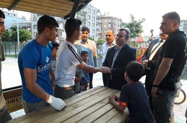 Siirt Belediye Başkan Vekili Taşkın, Masal Dünyası Parkı'nda incelemede bulundu