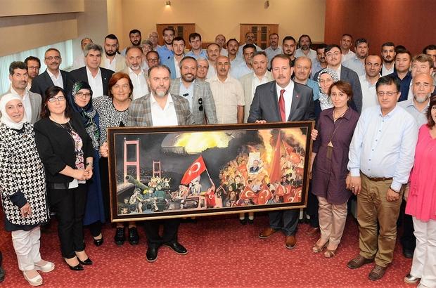 Karacan, Kardeşlik Platformunu ağırladı