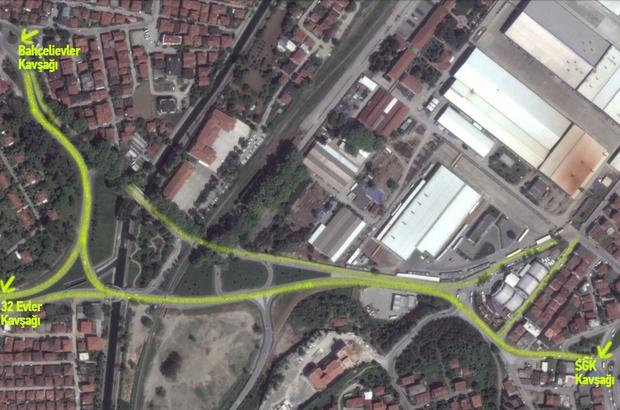 Büyükşehir belediyesi sigorta kavşağına asfalt atacak