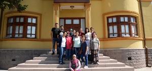 Bozüyük Şehir Müzesi misafirlerini ağırladı