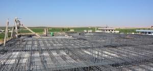 Ceylanpınar'da Kız Yurdu inşaatı devam ediyor