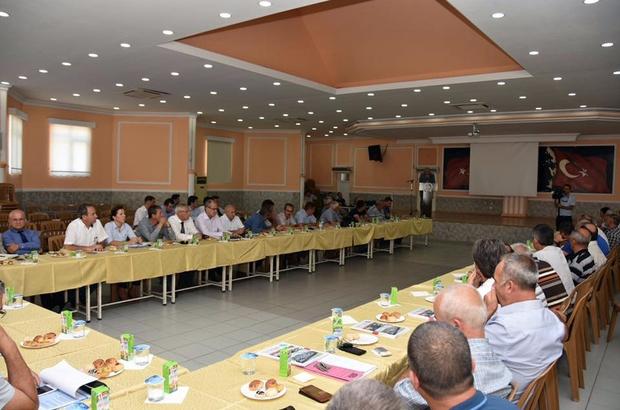 Şarköy'de muhtarlar toplantısı düzenlendi