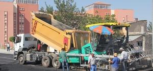 Yeni TOKİ'de ikinci kat asfalt çalışmaları başladı