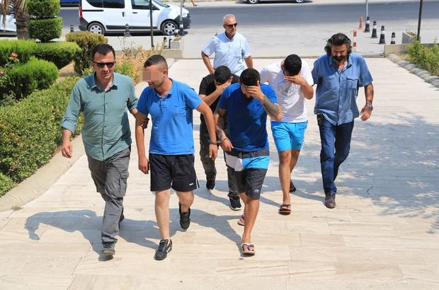 ilas'ta yankesiciler tutuklandı
