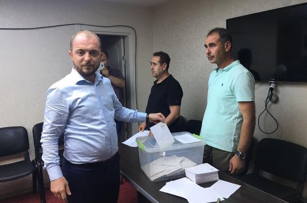AK Parti Bilecik teşkilatı sandık başına gitti