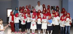 Başkan Duymuş, Yaz Kur'an Kursu kapanış programına katıldı