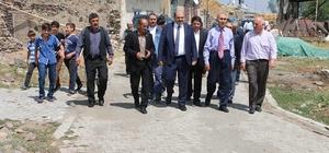 Özbek köy konağı ve taziye evi açıldı