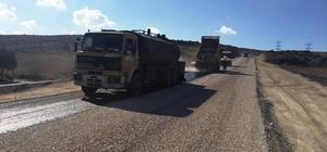 Çanakkale'de asfaltlama çalışmaları
