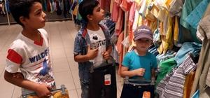 Suriyeli yetimlerin 'Bayramlık' heyecanı