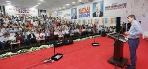 Başkan Türel 2019 seçimlerinin startını Kumluca'dan verdi