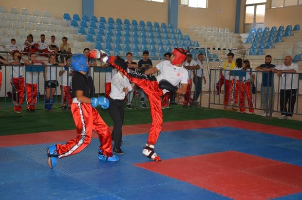 Kick Boks Korkuteli Kaymakamlık Kupası Başladı