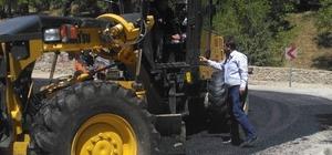 Bahçesaray'da asfalt çalışmaları