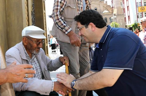 Başkan Yazgı, vatandaşları ziyaret etti