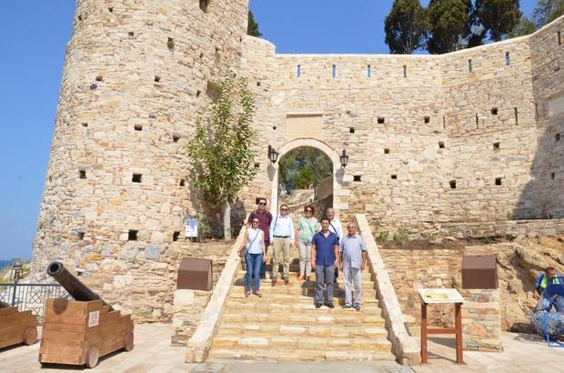 Bursa Büyükşehir Belediyesinden Kuşadası'ndaki tarihi merkezlere ziyaret