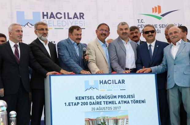 """Çevre ve Şehircilik Bakanı Mehmet Özhaseki, """"Yerin altında bir hareketlilik var bununla savaşılmaz"""""""