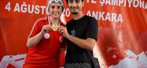 Engelli sporcu Türkiye şampiyonu oldu