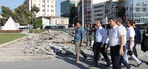 Büyükşehir, Rabia Meydanını yeniden düzenliyor