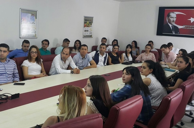 """Aydın'da market çalışanlarına  """"Güvenilir Gıda"""" konulu eğitim verildi"""