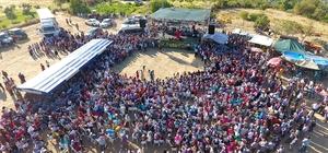 Silifke'de Nuru Mahallesi incir ve fıstık festivali yapıldı
