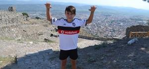 Manisalı 11 yaşındaki oyuncu Beşiktaş'ta forma giyecek