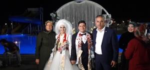 Başkan Yaman, ailelerin mutluluklarına ortak oldu