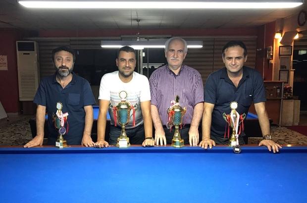 Bilardoda Zafer Kupası Heyecanı