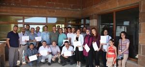 Ahlat'ta 'Güneş Enerjisi Yatırım Dosyası Hazırlama' eğitimi