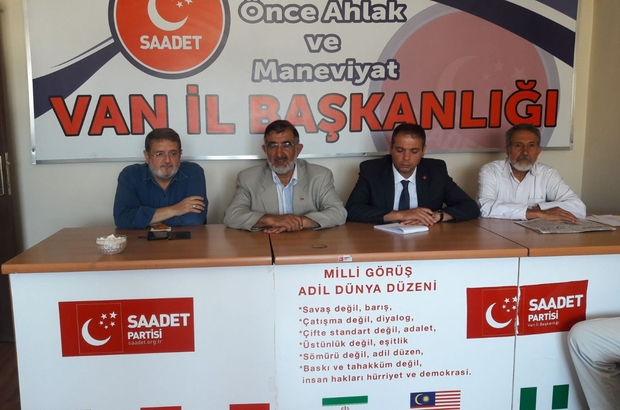 Saadet Partisi Ağustos Ayı İl Divan Toplantısı