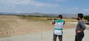 Hisarcık'ta trap ve tek kurşun atış yarışması